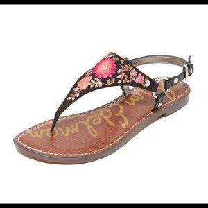 Sam Edelman  Embroidered